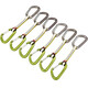 Ocun Hawk QD Combi DYN 11 Set express 5+1 Pack verde